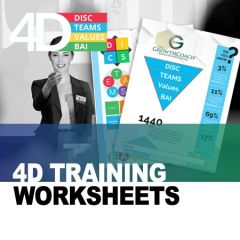 4D Training Worksheet (Hardcopy)