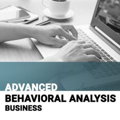 Training Level 2: Advanced Behavioral Analysis Course Binder: Business (hardcopy)