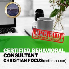 Certified Behavioral Consultant Christian Focus