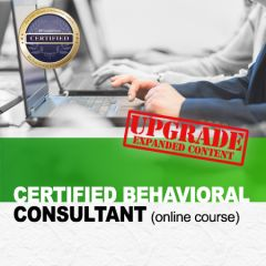 Certified Behavioral Consultant (CBC) Self-Study Course (online)