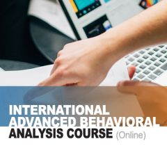 International Advanced Behavioral Analysis Course (online)