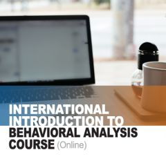 International Introduction to Behavioral Analysis Course (online)