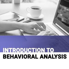 Training Level 1: Introduction to Behavioral Analysis Course Binder: (hardcopy)