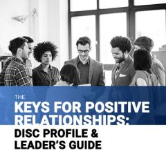 Leader's Guide: The Keys for Positive Relationships (Hardcopy)