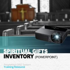 PowerPoint Instruction: The Spiritual Gifts Inventory (SGI) (Download)
