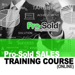 Pro-Sold Training Course (online)