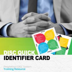 Quick DISC Identifier Cards (Hardcopy)