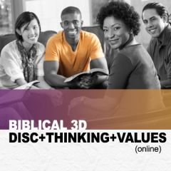 The Biblical 3D Report: DISC + THINKING + Values (online)