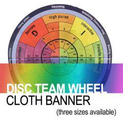 DISC Team Wheel (Cloth Banner)