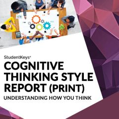 StudentKeys: Cognitive Thinking Style (Hardcopy)