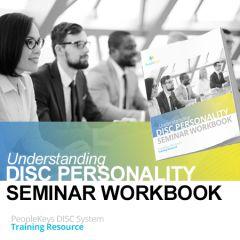 Understanding DISC Personality Seminar Workbook (Hardcopy)