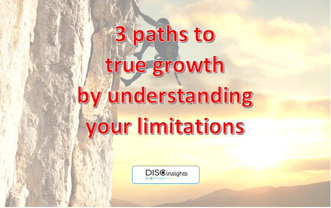 3 paths to true growth by understanding your limitations