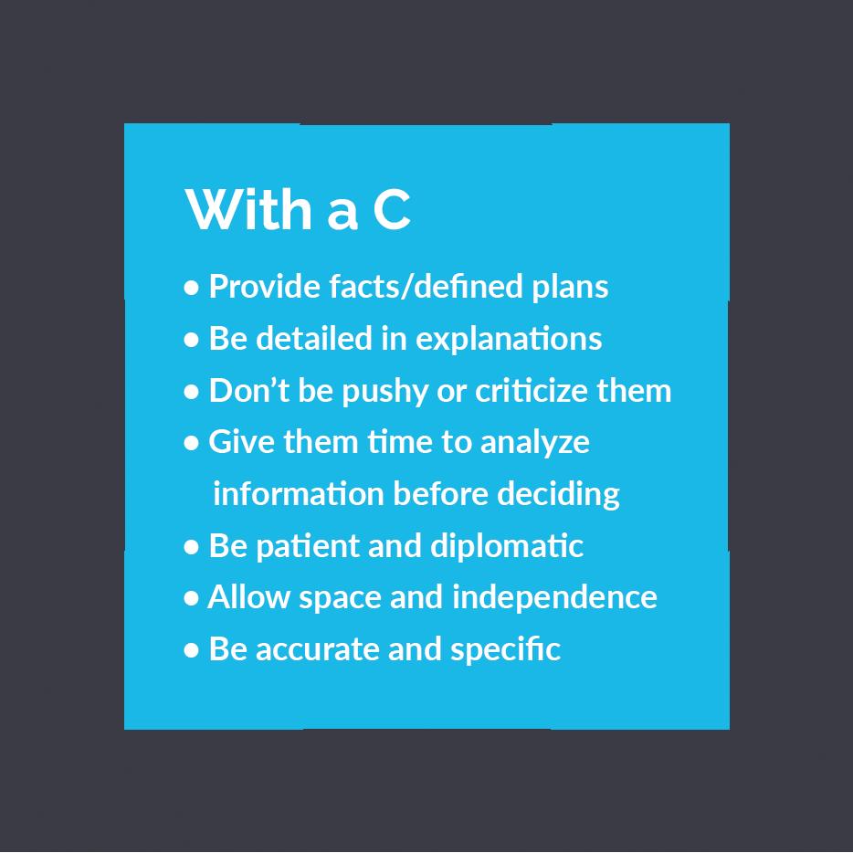 Description of C personality type