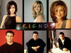 DISC Personalities applied to Friends characters