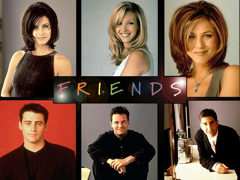 the characters of Friends and what their DISC personality styles were